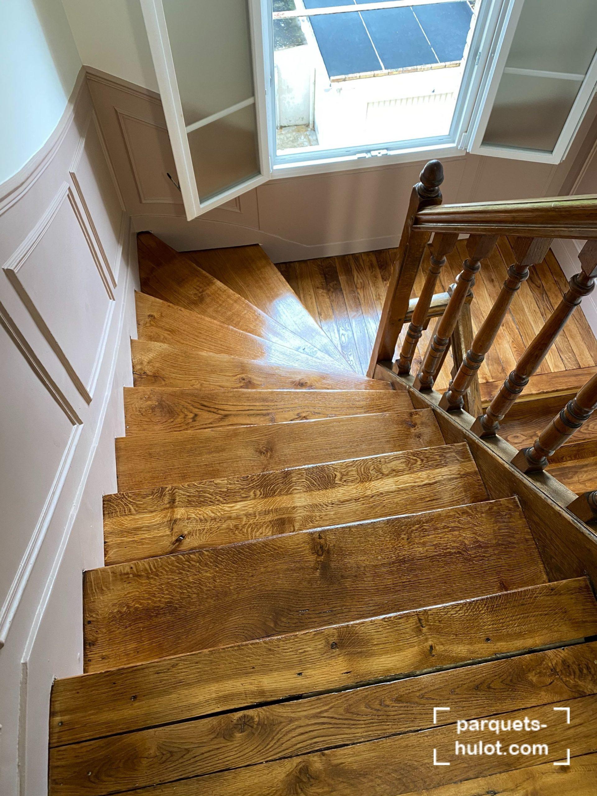 rénovation escalier Romainville